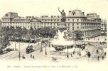 CPA PARIS - CASERNE DU CHATEAU D´EAU ET STATUE DE LA REPUBLIQUE - France