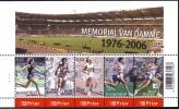 Belg. 2006 - COB N° 3520 à 3524 ** - Mémorial Van Damme (bloc 129) - Planche N° 1 - Unused Stamps