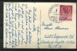 Germany Berlin (West) 1950 PP Card Mi 71 FDC Used To USA. CV 160 Euro - [5] Berlin