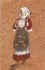 H-COSTUME DI SENNORI-CARD IN SUGHERO - Cartoline