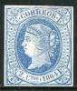 Edifil 63(*), 2 Cuartos Azul De 1864 Nuevo - Nuevos