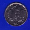 FV - URUGUAY 2008 - 50 CENTESIMOS UNC - Uruguay