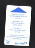 FINLAND - SHIP CABIN KEYCARD - (  SILJA LINE ) - Hotel Keycards