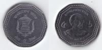 Bangla Desh 2012 New Design 5 Taka Coin UNC Limited Print Father Of Nation - Bangladesch