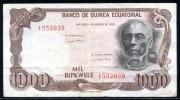 Equatorial Guinea P 16 P16, 1000 Bipkwele 1979 F+ - Guinée Equatoriale