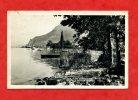 * Lac D´Annecy-Le Port Veyrier(Bateau à Vapeur Et à Roues Au Loin)-Carte Photo 1940...? - Annecy