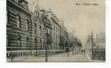 """Ancienne Cp """" MONS, L'Hospice  Clépin"""" Avec Valeur Et Cachet 1909 - Mons"""