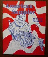 Programme Du Cirque American Sampler 1991 - Programmes
