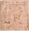 Billet/ Bandeau De Liasse/ Parchemin Vélin/ Pour Billets à Vingt Centimes/1851-53               BIL36 - Assignate