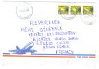 VEND TIMBRES DE LA REPUBLIQUE DEMOCRATIQUE DU CONGO N° 1751 X 3 , SUR LETTRE , COTE : ?,?,?, !!!! - Democratic Republic Of Congo (1997 - ...)