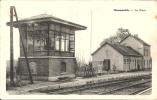 GEMMENICH : La Gare - TRES RARE CPA - Plombières