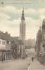 VERVIERS : La Porte Et La Rue Ortmans Hauzeur - TRES RARE TOP CPA - Editeur A. Flameng, Verviers - Verviers