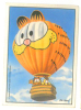 Ade105 Figurine, Stickers, Autocollant | Garfield, Gatto, Mongolfiera, Chat, Montgolfière, Cat, Air Balloon, Panini - Panini
