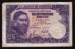 BILLETE DE 25 PESETAS DE 1954 - USADO - (ISAAC ALBENIZ) - 25 Pesetas