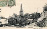 DOMPIERRE (59) Vue Du Centre Du Village église Animation - Ohne Zuordnung