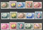 Maldive Islands - Maldives 1966 Fauna & Flora : Shels And Flowers 2L To 10R   ***  MNH - Maldives (1965-...)