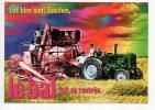 Ref 75 - 14 CPM Cart´com Cartcom Le Bal Les Blés Sont Fauchés LE BAL Tracteur Moisson 1998 - Tracteurs