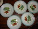 5 anciennes assiettes fraises de st Amand
