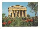Cp, Italie, Pestum, Temple De Neptune, Voyagée 1989 - Salerno