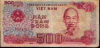 Vietnam - Billet : 500 Dongs (1988) - Viêt-Nam