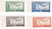 Lebanon 1947,Arab Postal Sofar 4v.compl.set Superb Never Hinged,IMPERF,.matching Border,singed- Only 200 Exist-RARE - Lebanon