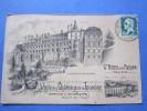 cpsm 1923 grand hotel du faisan tours cartes publicitaire pour la visite des chateaux de la touraine