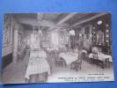 cpa hostellerie du vieux cordes XIII siecle grande salle a manger