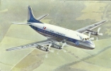 """Th - Aviation - Air France - VICKERS """" VISCOUNT"""" - Voir Description - 1946-....: Moderne"""