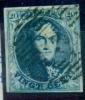 Belgique - No 7 Oblitéré P 5 (Arlon), 4 Marges, Superbe, See Scan - 1851-1857 Medaillen (6/8)