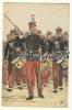 INFANTERIE - TAMBOUR- MAJOR - ILLUSTRE PAR MAURICE TOUSSAINT - Militaria