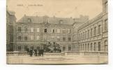 """Ancienne Cp """" MONS, Ecole Des Mines""""  Avec Cachet Militaire 1918 - Mons"""