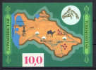 Turkmenistan 1992 Unif. BF1 **/MNH VF - Turkmenistan