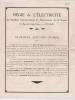 ### Publicité, Régie De L'éléctricité Du Département De La Vienne Poitiers, Station Electro Pompe, Bilan - Advertising