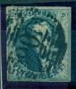 Belgique - No 7 Oblitéré P 106 (Saint Trond), 4 Marges, Superbe, See Scan - 1851-1857 Medaillen (6/8)