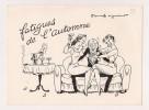 ### Publicité,produit Reticulene Contre La Fatigue Et Le Manque D'appetit, Bievres, Illustration, Fatigue De L'automne - Advertising