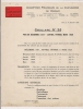 ### Publicité, Comptoir Francais De La Cianide De Chaux, Paris, Circulaire N°25, 1938 - Advertising