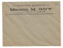 PUBLICITÉ ENVELOPPE , Café-Bar Moderne , Maison M Guy , Avallon  (89) - Advertising