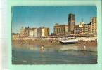 MEE390 BLANKENBERGE (Belgique - Fl-Occ) Plage Et Casino -  Bateau Sur Roues (voir Détails 2scan) Circulé Années 1950-60 - Blankenberge