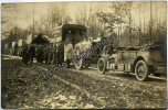 CPA Carte Photo Guerre 14-18 Militaire Artillerie Voiture Camion Military Car Truck Artillery WW1 - Guerre 1914-18