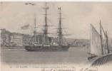 LE HAVRE ( Croiseur Americain Entrant Dans Le Port ) - Guerra