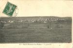 Saint Honore Les Bains  Vue Generale Scan Recto Verso - Francia