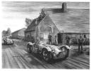 Le Mans 1950 - Talbot-Lago - Roser/Roser - Art Postcard By Christophe Parodi - Le Mans