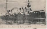 ( LA JEANNE D'ARC )croiseur Cuirasse - Guerra
