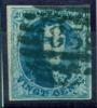 Belgique - No 7 Oblitéré P 83 (8 Barres) (Mons), 4 Marges, Superbe, See Scan - 1851-1857 Medaillen (6/8)
