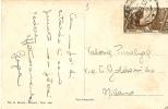 H-ITALIA REGNO1932 DECENNALE MARCIA SU ROMA 30C.SU CARTOLINA - Storia Postale