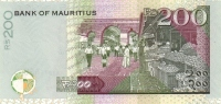 MAURITIUS P. 52d 200 R 2007 UNC - Maurice