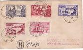 SPM  1939  Lettre Recommandée  Pour USA Série Expo New York  (189-190) + 170, 173, 177 - Lettres & Documents