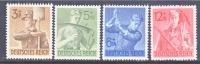 Germany B 237-40  * - Unused Stamps