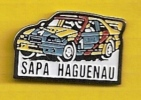 AUTOMOBILE - SAPA HAGUENAU - Rallye