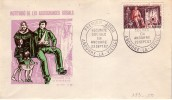 ANDORRE-SECURITE SOCIALE 23 SEPTEMBRE 1967. - FDC